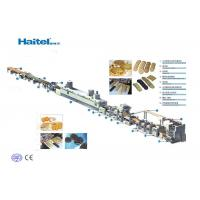 Quality Automatic Cookie Production Line , Bakery Biscuit Machine Save Energy for sale