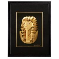 Quality Handmade 24k gold leaf Egypt frame gold foil crafts FOR Business gifts for sale