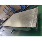 China Forklift Loading 6T Hot Dip Galvanized Electric Dock Leveler For Particular Loading Bay for sale