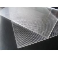 Quality OK3D 20LPI Lenticular PS sheet standard size 1.2*2.4m 3mm thickness for 3d flip effect lenticular printing for sale