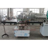 China 500 - 1000 BPH CSD Beverage Filling And Capping Machine For Plastic Bottle Water Juice on sale