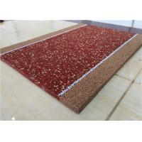 Brown EPDM Recycled Rubber Granules Fragmented Wear Resistant / Anti - Static