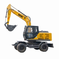 China Hydraulic 58kw 0.25m3 110L/Min Small Digger Excavator for sale