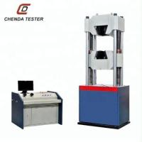 Quality 60 Ton Computerized Hydraulic Universal Testing Machine Price For Bolt Tensile Strength Test School Laboratory Equipment for sale