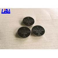 Buy cheap Standard CR2032 240mAh Lithium Button Batteries For Watch Electric Toys from wholesalers