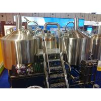 Quality SUS 304 Craft Beer Brewing Equipment 1000L Brewing System With ISO CE Certificated for sale