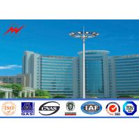 Buy cheap Customized 50ft Polygonal Stadium Football High Mast Tower For Football Stadium from wholesalers