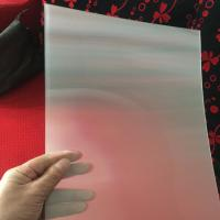 Quality 75LPI 51cmx71cm PET lenticular lens sheet for injekt print and uv print with good Lenticular Printing Effect for sale