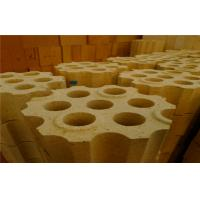 Quality Hot Blast Furnace / Stove High Alumina Refractory Brick Chequer Insulated Fire Brick for sale