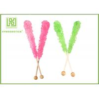 Best Craft Ideas Decorative Popsicle Sticks , Natural Wood Color Candy Floss Sticks Sterile wholesale