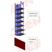 Intelligent hydraulic jacking formwork platform for high-rise building construction