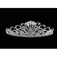 Buy cheap Can be copper Bridal Crystal, Rhinestone wedding jewelry Tiaras And Crowns from wholesalers