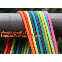 Quality Best quality Green amusement equipment polyester rope 5mm nylon braided rope for sale