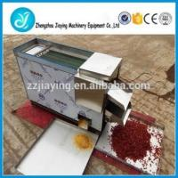 Quality Dry type red chili cutting machine and chili seeds seperate vegetable cutting machine for home use for sale