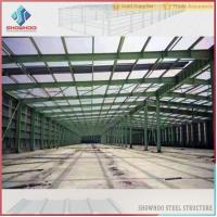 Quality SHOWHOO Factory Price Steel Structure Workshop And Prefabricated Steel Structure Building for sale