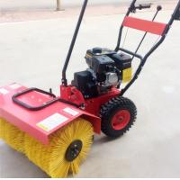 Quality 380v Snow Sweeper Machines 13HP Hand Held Hot Snow Blower 500mm Width for sale