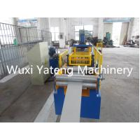 Quality Customerized Industrial Gutter Roll Forming Machine For Rain Water 0.4 - 0.8mm Thickness for sale