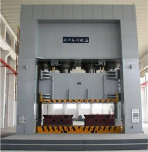 High Efficiency 2000 T Hydraulic Molding Press For Automative Girder