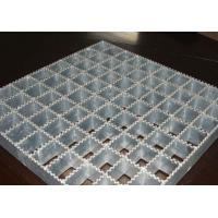 Quality Powerful Open Steel Floor Grating , Anti Corrosion Welded Steel Bar Grating for sale