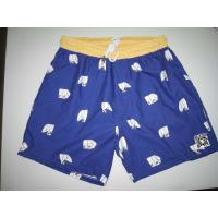 Best Custom Mens Beach Shorts/Board Shorts Oem With White Cord wholesale
