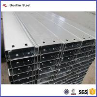 Quality Good Price And Factory Direct Galvanized Steel C Channel for sale
