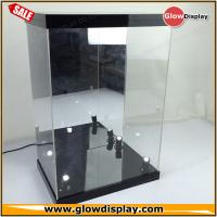 Buy cheap factory custom collectiable toy figure acrylic display case with LED light from wholesalers