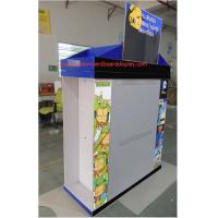 POS 3 sided Corrugated Cardboard Pallets CMYK printed Environmental Friendly