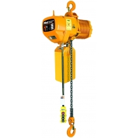 Quality Fixed Hook Double Speed 6.8m/Min 1 Ton Electric Chain Hoist for sale