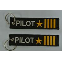 Best Pilot Captain four bars with Star keychain Airlines Aviation Gift wholesale