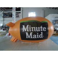 China 0.18mm PVC Helium Advertising Blimps Bespoke UV Productive Printing on sale