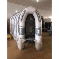 China Small Inflatable Sport Boat Flexible Floor 230 Cm With 2 - 75HP Outboard Engine on sale