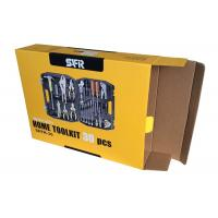 China Full Color Printing Electronic Package Box Corrugated Paper Toolkit Box Factory WLH-001 on sale