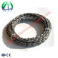 Quality Diamond Wire Rope Stone Quarry Cutting Used On Diamond Wire Saw Machine for sale