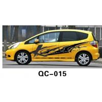 Best UV offset printing Car Body Sticker QC-015A / Car Decoration wholesale