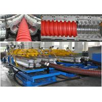 Quality Customized PE / PP Spiral Pipe Extrusion Line With Single / Multi Layer for sale