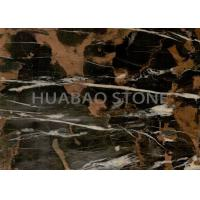 Quality Wall Cladding  Marble Slab Tile , Natural Stone Flooring Polished Surface for sale
