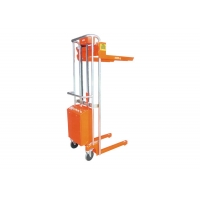 China Overload Protection Semi Electric Hydraulic Mini Pallet Stacker on sale