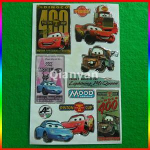 Best custom car sticker/ cartoon sticker wholesale