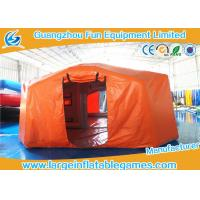 Quality Air Tight Inflatable Air Tent For Emergency , Emergency Air Tent With Flame Retardant Material for sale