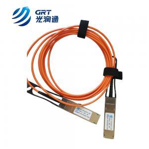 Quality 40G AOC QSFP+ 850nm multimode 3m Fiber Optical Transceiver Module for sale