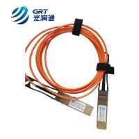 Quality QSFP+ 850nm Active Optical Cable 5m 40G QSFP+ to 4x10G AOC for sale