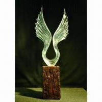Buy Resin sculpture, transparent crafts for home decoration at wholesale prices