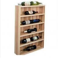 Quality Alcohol Beer / Champagne Wooden Display Racks For supermarket for sale