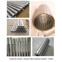 China 14 inch Pipe Screens For Water Wells on sale