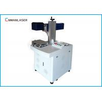 China Wood Bamboo Leather 20w CO2 Laser Marking Machine With Laser Beam Galvo Scanner on sale