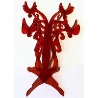 Best CH (53) Red acrylic candle holder/candelabra wholesale