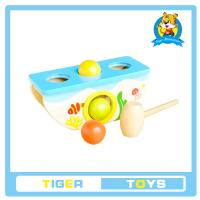 Best wooden toys,educational toys for kids-Wooden Pegs Game-Knock hamaster/mouse wholesale