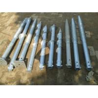 Quality Hot Dipped Galv  Screw Ground Anchor Steel Material For Foundation Flag Poles for sale