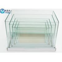 Buy cheap Ultra Clear white Glass Arc 5 In 1 Set Mini Aquarium Fish Tanks Square Customized Fish Tank from wholesalers