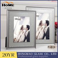 Quality Vertical Personalised Glass Photo Frames , Non Glare Flat Glass Picture Frames for sale
